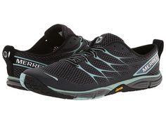 Merrell Road Glove Dash 3 Black/Eggshell Blue - Zappos.com Free Shipping BOTH Ways