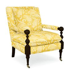 Island Chair in Imperial Paisley Sun |  from Company C