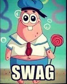 Patrick has Swag ! :)