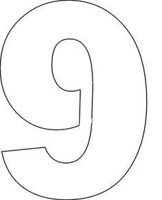 Large Number Stencils Printable | Fun Printable