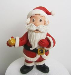 Santa Claus Out Of Fondant on Cake Central