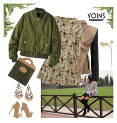 """Yoins jacket"" by irinavsl ❤ liked on Polyvore featuring mode, Gucci et yoins"