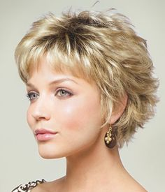 Short Shaggy Hairstyles short shaggy hairstyles with bangs for fine hair is a great haircut one Mason By Noriko Wilshire Wigs