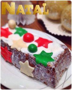 Bolo de cenoura com amêndoas e especiarias para um Natal mais delicioso!!! - O melhor restaurante do mundo é a nossa Casa