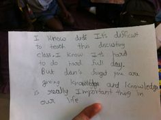 And this one who appreciates the importance of education: | 17 Kids Who Will Change The WorldSomeday