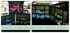 School Days File Box - Love this
