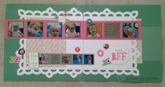 #ctmh lollydoodle scrapbook layout from the workshop on the go kit  The Brae-er | Just another WordPress site