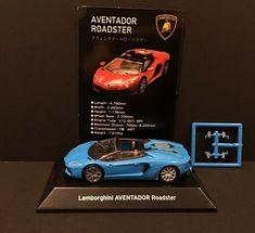 Lamborghini Aventador Roadster, Blue Lamborghini, Toy Model Cars, Diecast Model Cars, Roadster Car, Wide Body, Engine Types, Car Set, Monster Energy