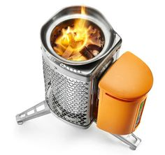 Stove Burns Wood, Charges USB-Powered Gadgets on Side | Gear Review | Gear Junkie