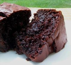 Dark Triple Chocolate Cake. Photo by Bobtail