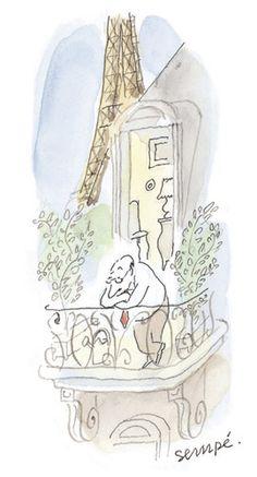 Jean-Jacques Sempé – Exposition 2009 | Galerie Martine Gossieaux Illustration Parisienne, Paris Illustration, Illustrations, Art Parisien, French Cartoons, Paris Art, Driftwood Art, Typography Prints, Art Inspo