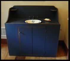 Wash Stand Vanity Base Cabinet Country Rustic Primitive Furniture |  Bathrooms | Pinterest | Wash Stand, Primitive Furniture And Base Cabinets
