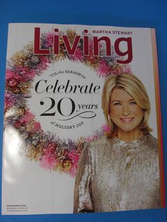 Magazine Martha Stewart Living December 2010