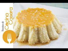 Flan de coco | Recetas de Cocina Casera - Recetas fáciles y sencillas