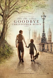 Goodbye Christopher Robin movie poster - behind the scenes story of the life of A. Milne and the creation of the Winnie the Pooh stories inspired by his son Christopher Robin. Family Movies, New Movies, Good Movies, Disney Movies, 2017 Movies, Latest Movies, Streaming Hd, Streaming Movies, Goodbye Christopher Robin