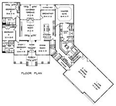 Cottage Country Craftsman House Plan 58297 Level One
