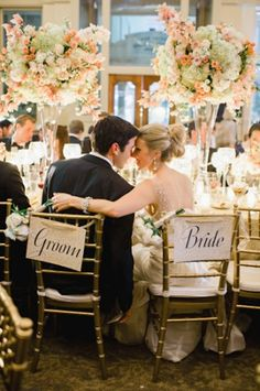 Black Tie New Years Eve Wedding by Trent Bailey - Southern Weddings Magazine Wedding Centerpieces, Wedding Decorations, Tall Centerpiece, Perfect Wedding, Dream Wedding, Sister Wedding, Wedding Reception Flowers, New Years Eve Weddings, Festa Party