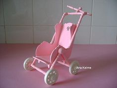 Cochecito Barriguita. Prams, My Childhood Memories, Baby Strollers, Nostalgia, Dolls, Antiques, Children, Vintage, Pink