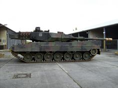 German Military Leopard Tank - One Mean Machine