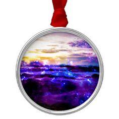Vanilla Twilight Metal Ornament
