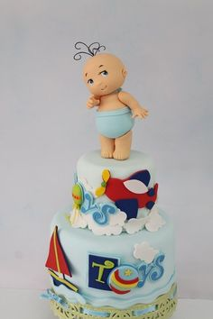 Baby - by TortasMonicaPeru @ CakesDecor.com - cake decorating website