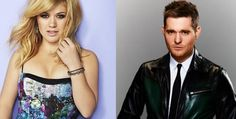 Kelly Clarkson and Michael Buble to star in upcoming NBC Christmas specials