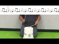 Uptown Funk Elementary Bucket Drum Follow Along - YouTube