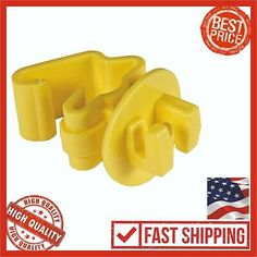 10-Dare Nail On Wood Post Porcelain Electric Wire Fence Insulator 25//Pk 16D-25