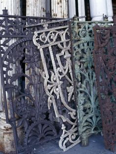 love old cast iron gates and fences...