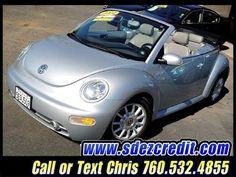 2004 VW Volkswagen Beetle Convertible