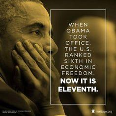 Great work Obama!