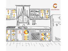kitchen Floor Plans, Diagram, Kitchen, Design, Cooking, Kitchens, Design Comics, Cucina, Floor Plan Drawing