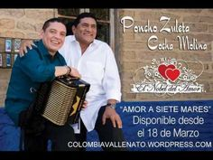 AMOR A SIETE MARES-PONCHO ZULETA Y COCHA MOLINA (Colombiavallenato.wordp... Mary, Siblings, Earth, Artists
