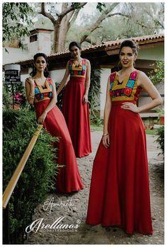 Hilary - Arellano& - Fashionable Folklor - Party Dresses – Page 3 – Arellano & # s – Fashionable Folklor - Mexican Bridesmaid Dresses, Bridesmade Dresses, Mexican Dresses, Wedding Bridesmaid Dresses, Prom Dresses, Oaxaca Wedding, Red Lace Prom Dress, Mexican Outfit, Quinceanera Dresses