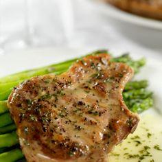 Slow Cooker Pork Chops- use olive oil instead of butter
