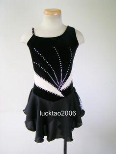 Gorgeous Figure Skating Dress Ice Skating Dress #6737 in Sporting Goods, Winter Sports, Ice Skating | eBay