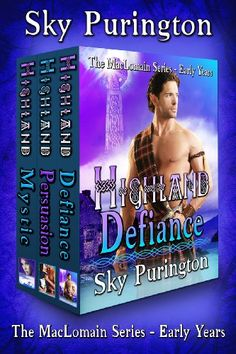The MacLomain Series- Early Years (Books 1, 2 and 3): A Highlander Time Travel Romance Boxed Set by Sky Purington http://www.amazon.com/dp/B00H6M31WO/ref=cm_sw_r_pi_dp_IWrTwb1Y6VTWR