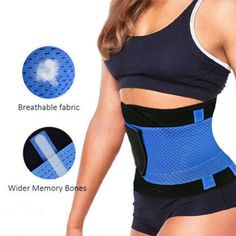 f22f4285317 SLIMBELLE - SLIMBELLE Women s Waist Trimmer Belt Back Support Adjustable  Abdominal Elastic Waist Trainer Hourglass Body Shaper - Walmart.com
