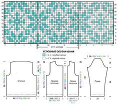 Схема и выкройка для вязания асимметричного жакета