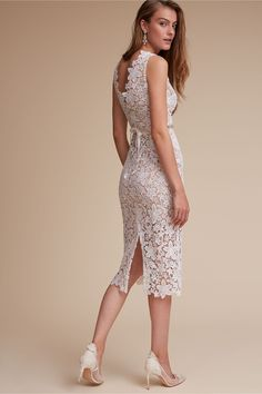 d38f90f0cf7a Shop for the perfect second dress for your wedding reception with BHLDN!  Dance the night away in a beautiful white reception dress that s both  timeless and ...