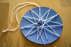 DIY Yarn Crafts : DIY Crafts: More Spider Crafts, Lacing Spider Webs - DIY