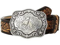 MAODA Retro Western Running Horse Cowboy Jeans Hebilla de cintur/ón de Regalo para Hombres Acabado en Peltre Bucle de 4 cm de Ancho