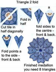 Origami Folhas de Arte: Papel para imprimir