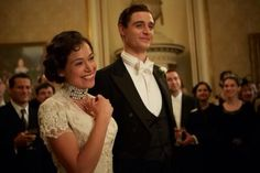 "Scene from ""Woman in Gold"" ~ Maria and Fritz at their wedding celebration"
