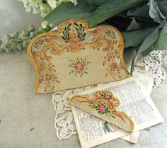 Vintage Florentine Style Crumb Catcher and Comb / by vintageaddie, $24.00