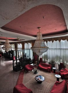 Abandoned New York resort.  I would like to own something like this