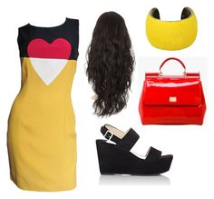 """""""#vintagechic 60's inspired OOTD Jan. 20"""" by chooseyourstyle321 on Polyvore featuring Moschino, Prada, Dolce&Gabbana, Isabel Marant, vintage, women's clothing, women's fashion, women, female and woman"""