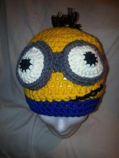Minions, Beanie, Facebook, Hats, Hoods, The Minions, Hat, Beanies, Minions Love