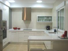 cocina blanca silestone blanco | Decorar tu casa es facilisimo.com