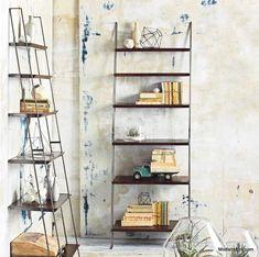 Roost Leaning Book shelf #BooksShelf #MinimalistBedroom